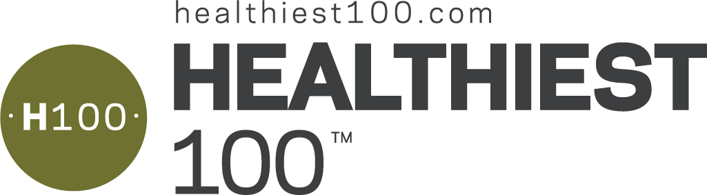 H100 winner. 2020 Healthiest 100 award Scored by Springbuk.